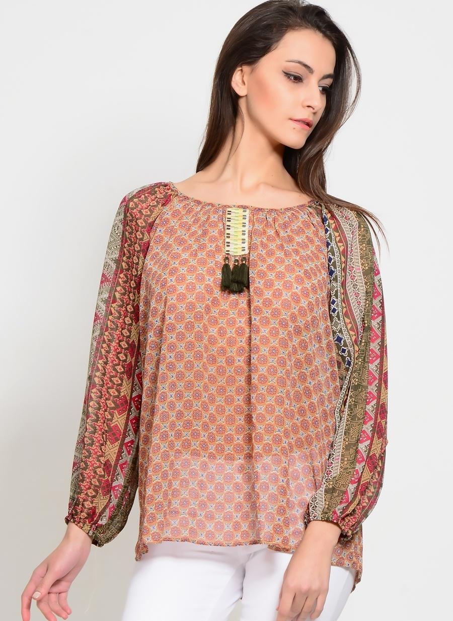 Kadın Cherry Parıs Bluz